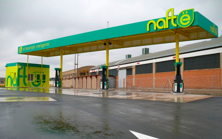 Franquicia Gasolineras Nafte